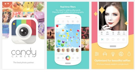 Descargar Candy Camera gratis