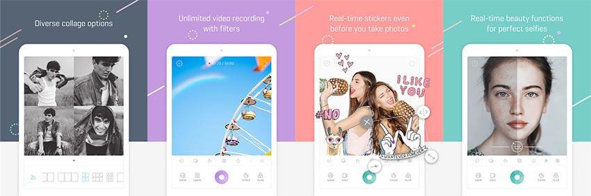 Aplicaciones para selfies